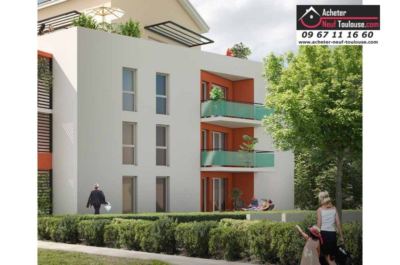 Appartements neufs tournefeuille t1 t2 t3 t5 for Acheter programme neuf