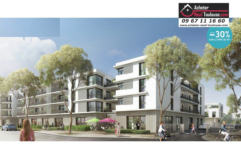 Appartements neufs toulouse saint martin du touch t1 for Immobilier neuf deja construit
