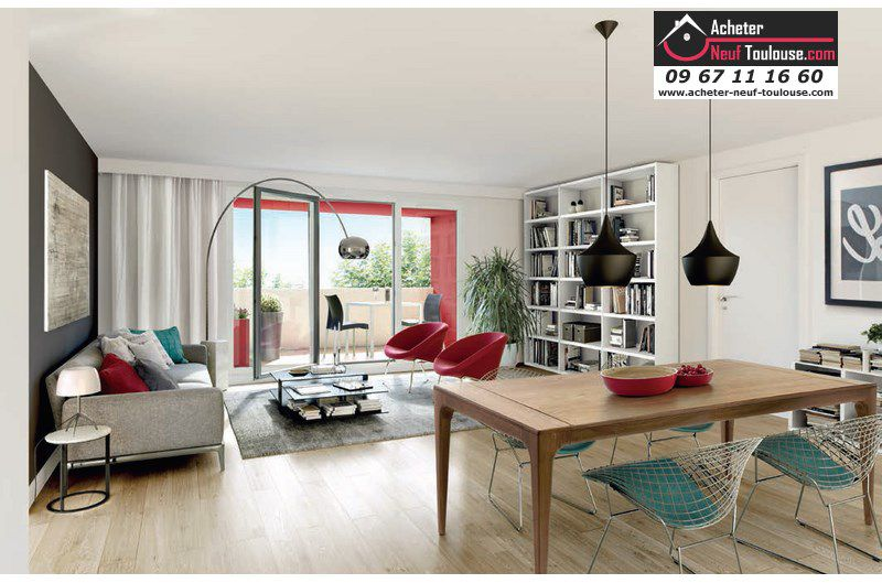 appartements neufs toulouse rangueil t2 t3 t4 acheter neuf toulouse. Black Bedroom Furniture Sets. Home Design Ideas