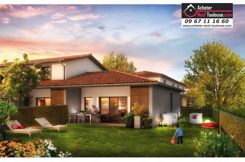 Maison neuve launaguet villas acheter neuf toulouse for Programme maisons neuves