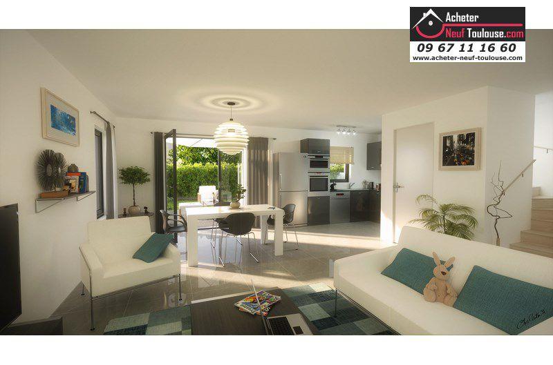 Maisons neuves colomiers villas acheter neuf toulouse for Acheter maison toulouse