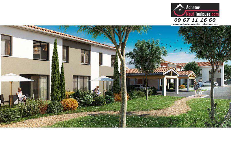 Maison neuve launaguet villas acheter neuf toulouse for Acheter maison toulouse