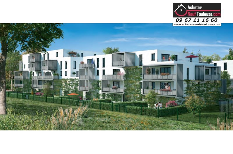 Appartements neufs tournefeuille t1 t2 t3 t4 for Acheter programme neuf