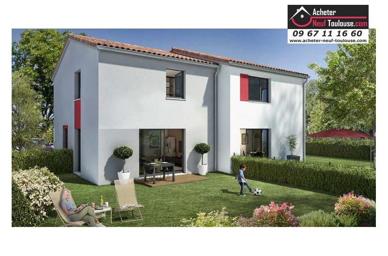 Maison neuve villeneuve tolosane villas acheter neuf for Acheter maison toulouse