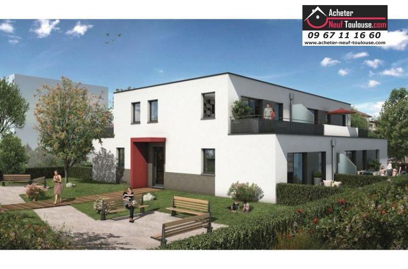 Appartements neufs toulouse croix daurade t1 t2 t3 for Acheter programme neuf