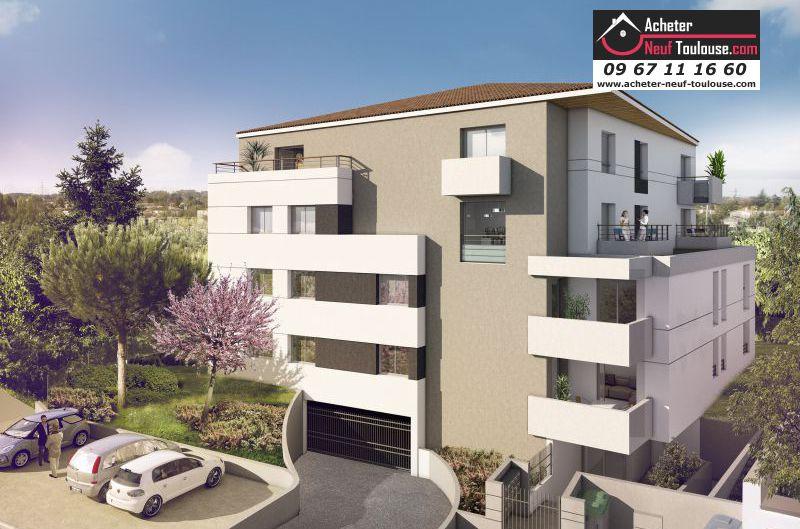 Appartements neufs toulouse argoulets t3 acheter neuf for Acheter appartement neuf