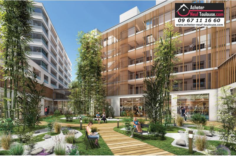 appartements neufs blagnac andromede t1 t3 t4 t5 et villas acheter neuf toulouse. Black Bedroom Furniture Sets. Home Design Ideas