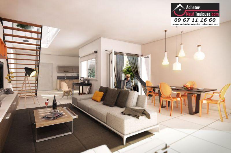 Maison neuve quint fonsegrives villas acheter neuf for Acheter maison neuve deja construite