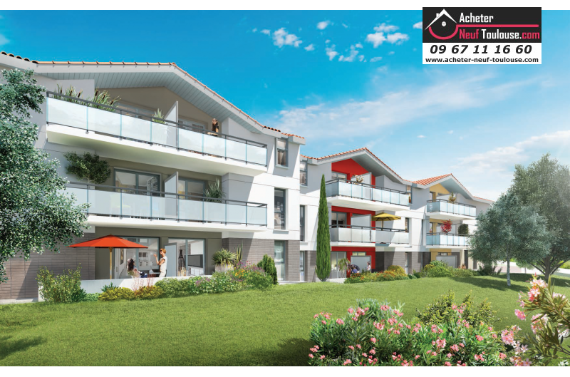 Appartements neufs auzeville tolosane t1 t2 t3 t4 for Acheter programme neuf
