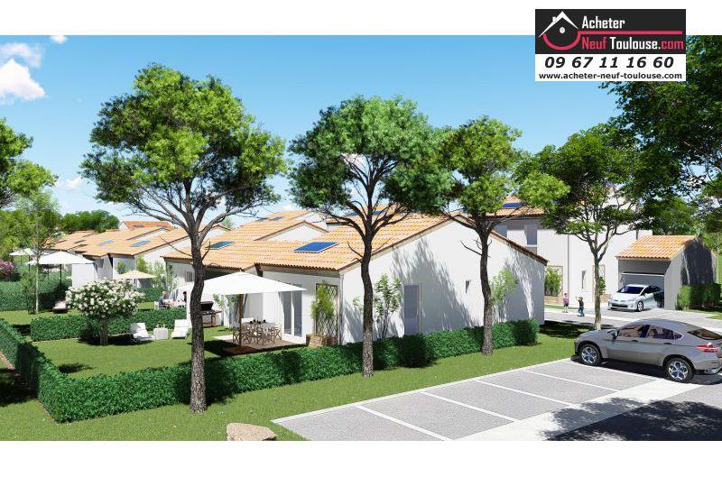 Maison neuve saubens villas acheter neuf toulouse for Acheter maison neuve deja construite