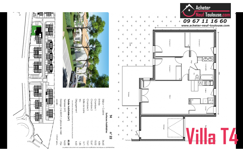 Maison neuve saubens villas acheter neuf toulouse for Maison neuve programme immobilier neuf