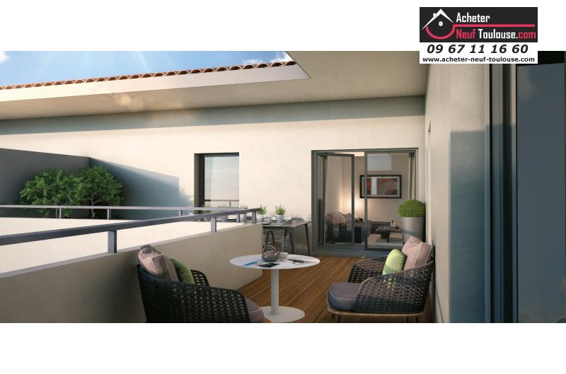 Appartements neufs fonsorbes t2 t3 acheter neuf for Acheter neuf