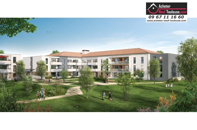 Appartements neufs fonsorbes t2 t3 acheter neuf for Acheter programme neuf