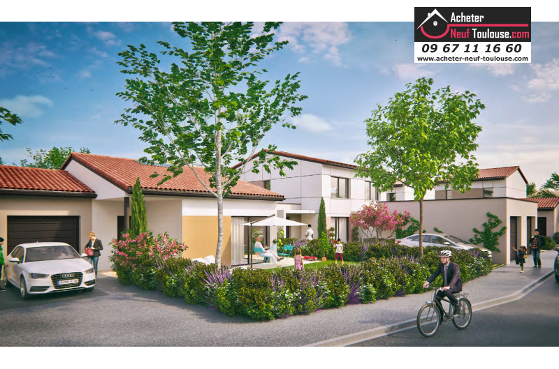 Maison neuve c pet villas acheter neuf toulouse for Acheter maison neuve deja construite