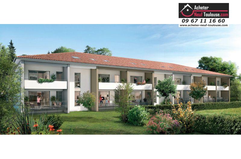 Appartements neufs gagnac sur garonne t2 t3 acheter for Acheter programme neuf