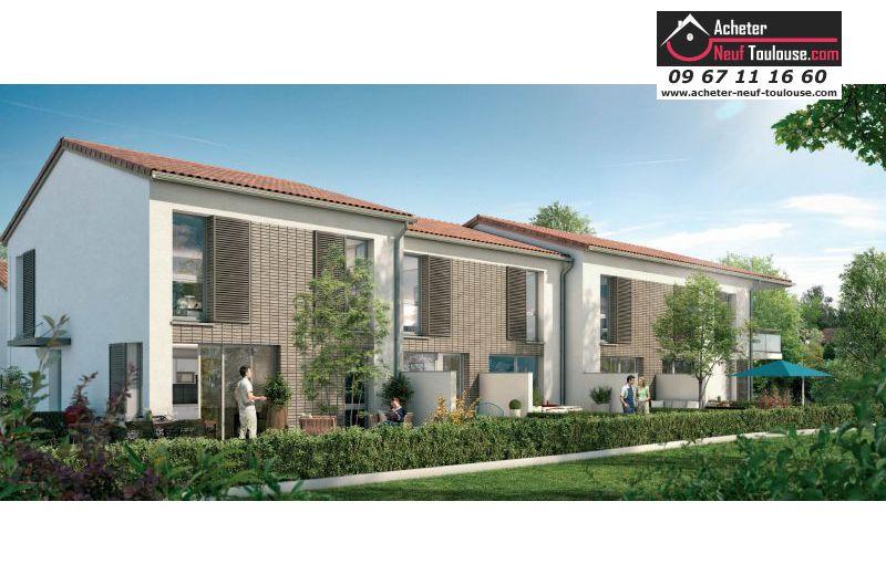 Appartements neufs toulouse pouvourville t1 t2 t3 et for Acheter maison toulouse