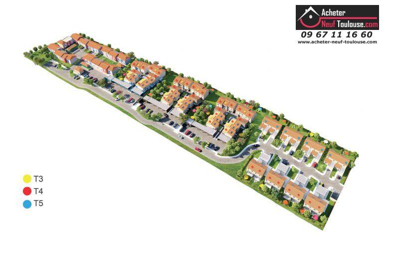 Maison neuve saint orens villas acheter neuf toulouse for Acheter maison neuve deja construite