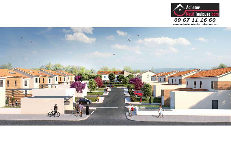 Maison neuve saint orens villas acheter neuf toulouse for Programme immobilier maison neuve