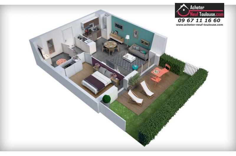 Appartements Neufs Escalquens T2 T3 T4 Acheter