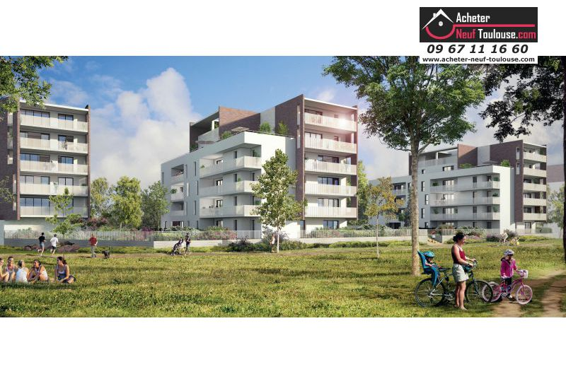 Appartements neufs blagnac andromede t2 t3 t4 t5 for Acheter programme neuf