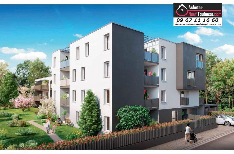 Appartements neufs toulouse lalande t2 t3 acheter for Acheter appartement neuf sans apport