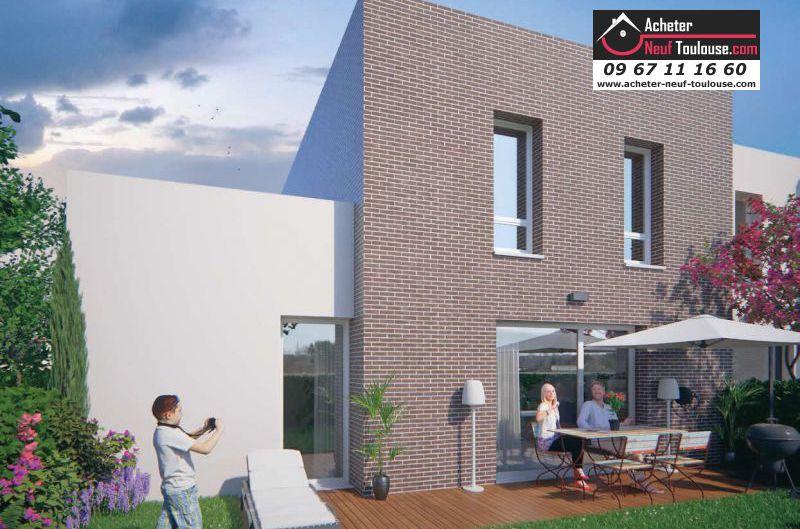 Maisons neuves aucamville t2 t3 et villas acheter for Surface moyenne maison