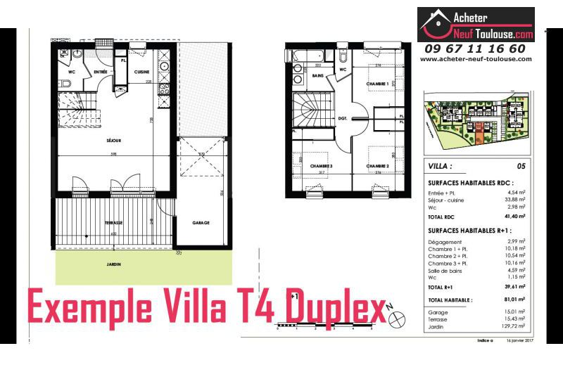 Maison neuve cugnaux villas acheter neuf toulouse for Maison neuve programme immobilier neuf