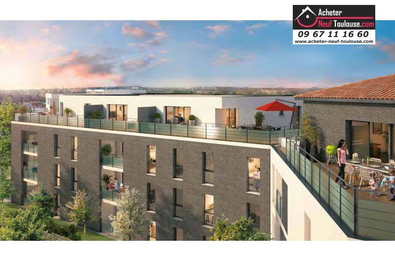 Appartements neufs toulouse jolimont t1 t2 t3 for Acheter maison toulouse