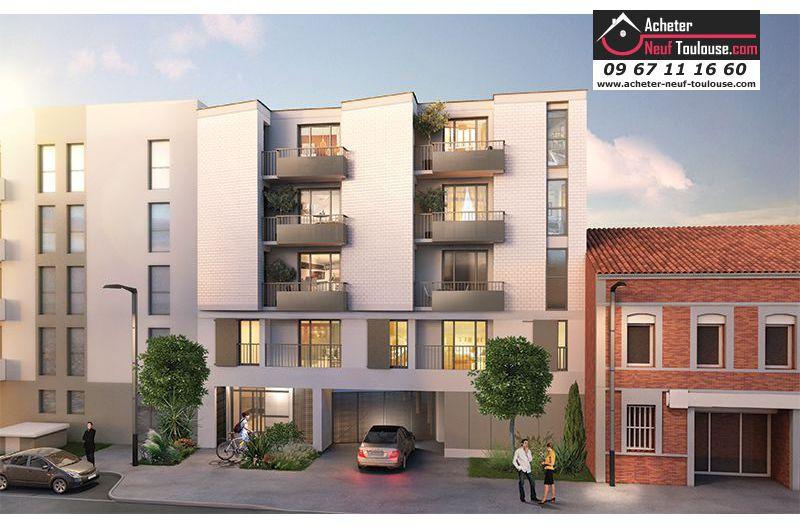 appartements neufs toulouse barri re de paris t3 acheter neuf toulouse. Black Bedroom Furniture Sets. Home Design Ideas