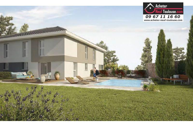 Maison neuve gratentour villas acheter neuf toulouse for Acheter maison neuve deja construite