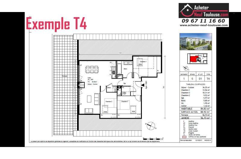 Appartements neufs à Toulouse Purpan