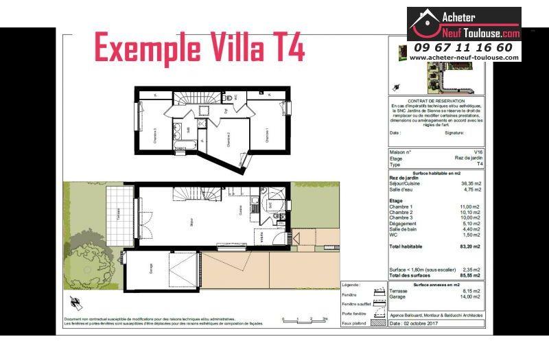 Appartements neufs plaisance du touch t2 t3 et villas for Acheter programme neuf