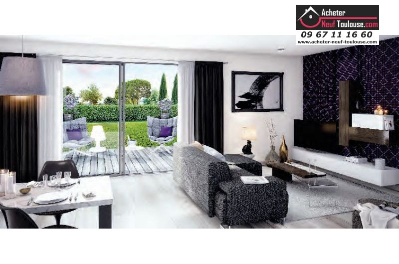 appartements neufs saint orens t2 t3 t4 acheter neuf toulouse. Black Bedroom Furniture Sets. Home Design Ideas