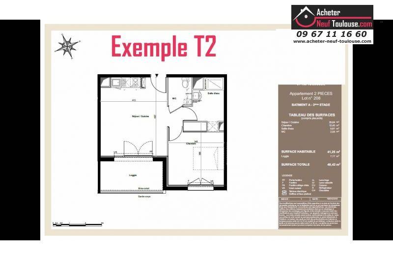 Appartements neufs à Toulouse Pradettes