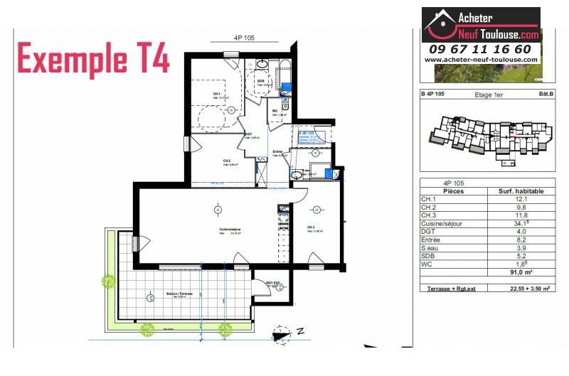 Appartements neufs à Toulouse Pouvourville