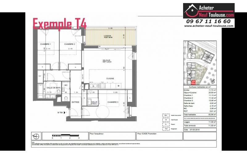 Appartements neufs à Toulouse Cartoucherie