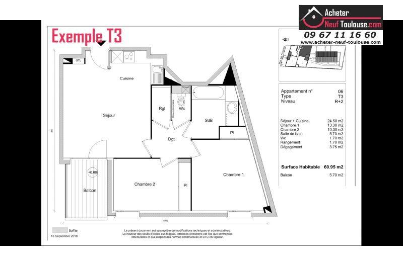 Appartements neufs à Toulouse Casselardit