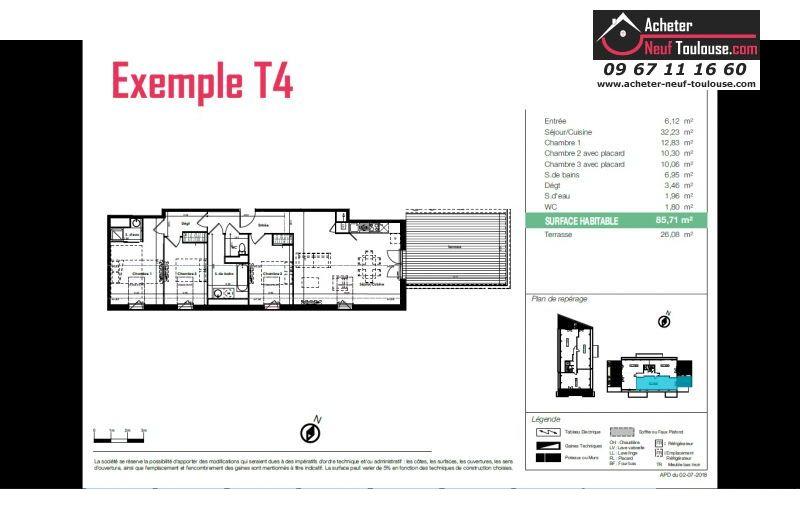 Appartements neufs à Plaisance Du Touch