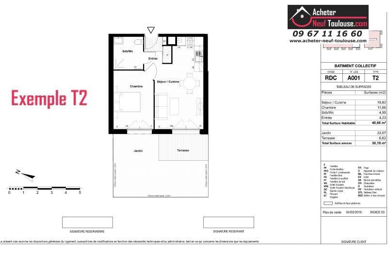 Appartements neufs à Aucamville
