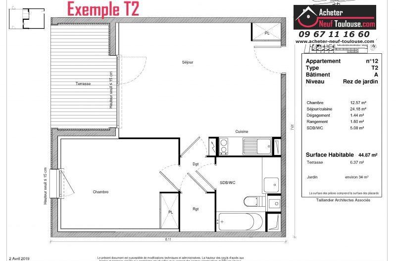 Appartements neufs à Saint-Jory