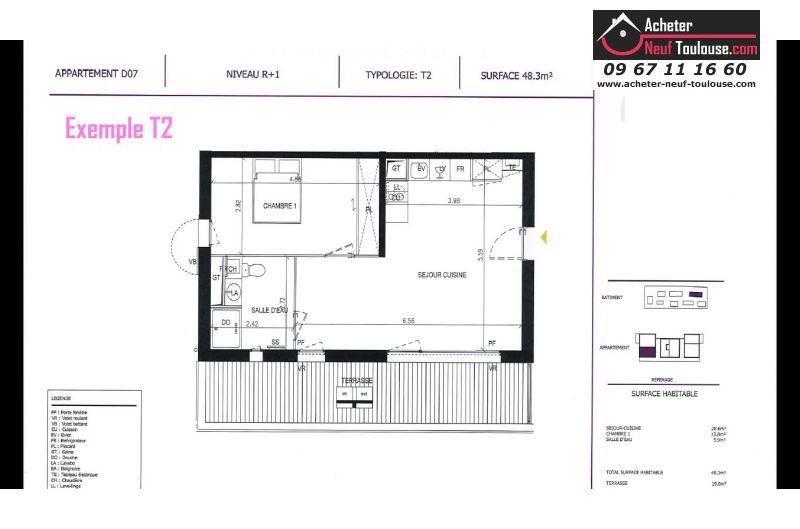 Appartements neufs à Pibrac