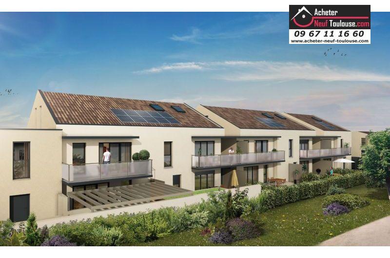 Maisons neuves à Toulouse Lardenne