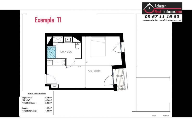 Appartements neufs à Toulouse Compans-Cafarelli