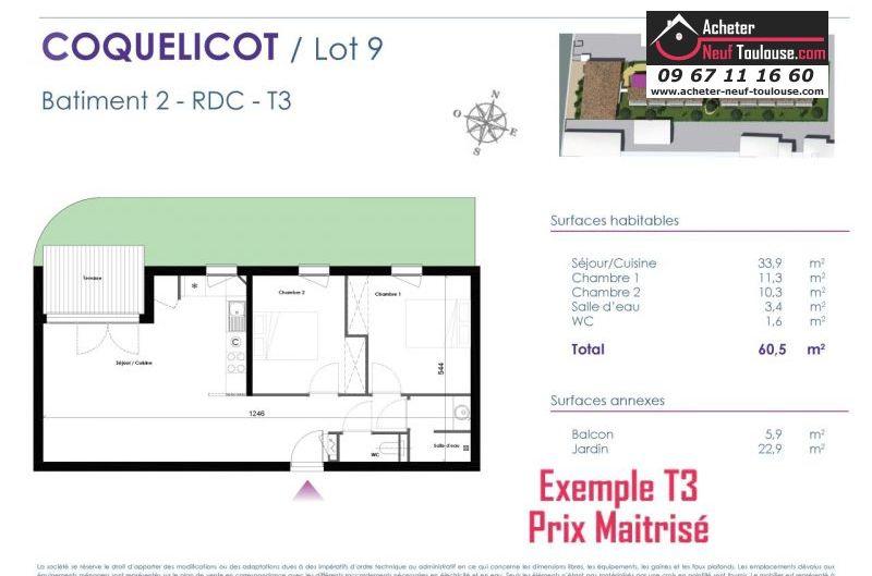 Appartements neufs à Toulouse Lalande