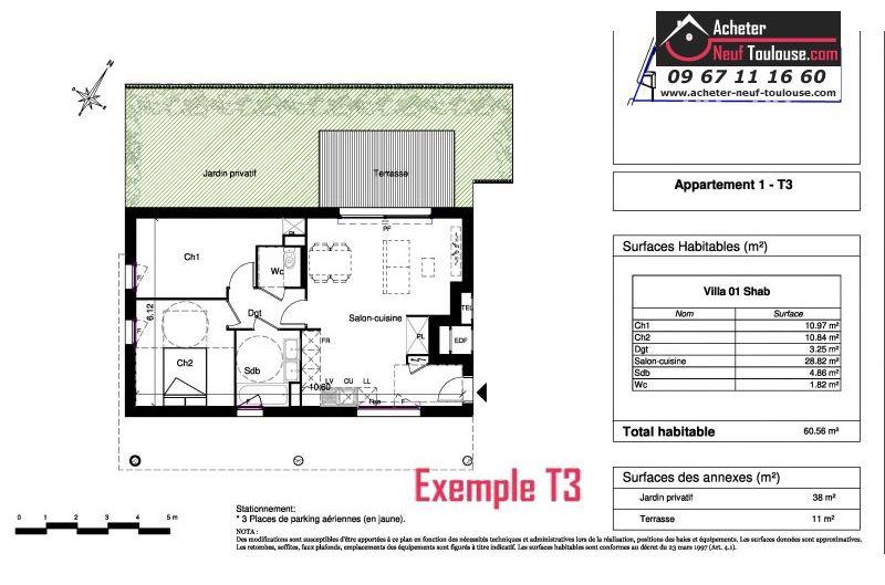 Appartements neufs plaisance du touch t3 acheter neuf - Piscine municipale plaisance du touch ...