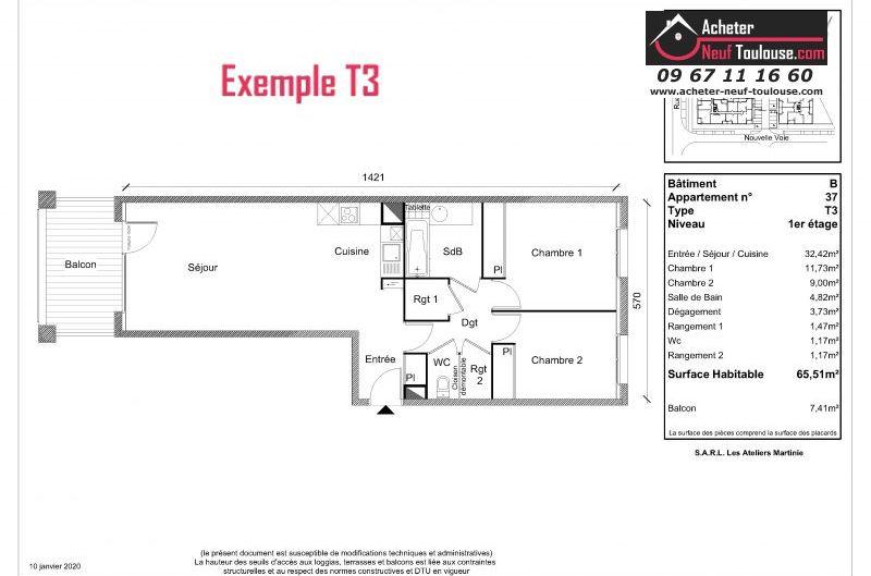 Appartements neufs à Plaisance-du-touch