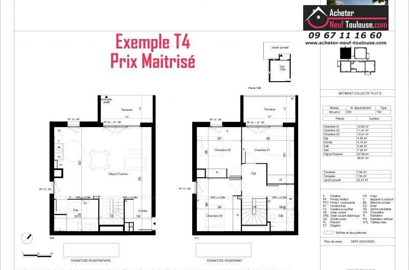 Appartements neufs à Toulouse Montaudran
