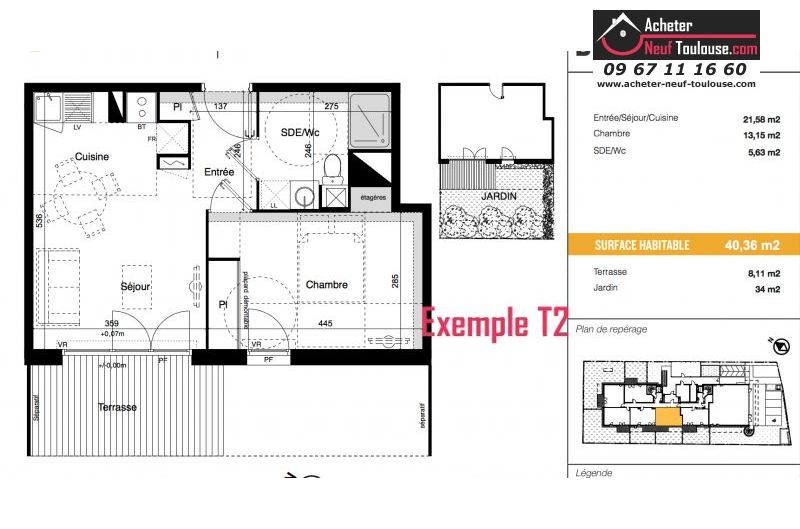 Appartements neufs à Toulouse