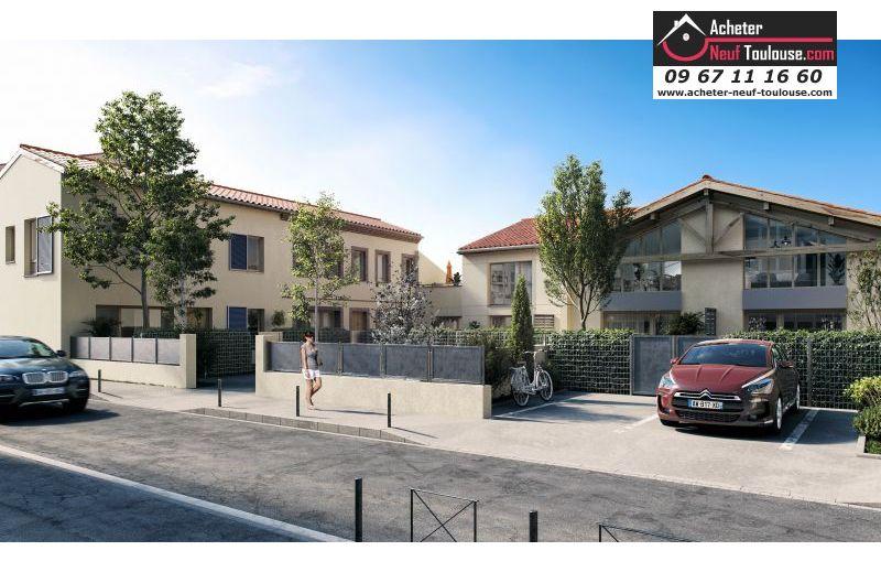 Maisons neuves à Toulouse Bonnefoy