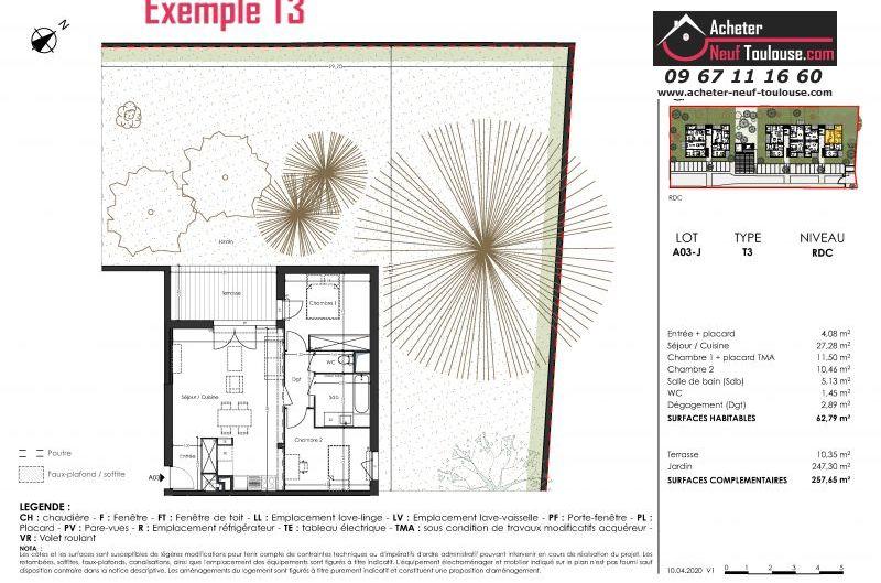 Appartements neufs à Toulouse Saint Simon